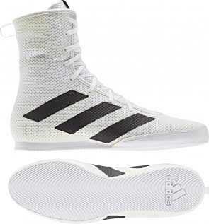adidas BOX HOG 3 white/black