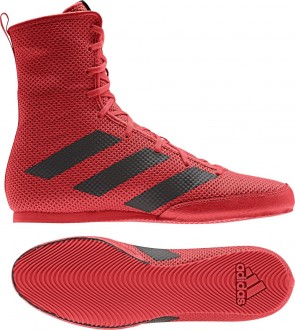 adidas BOX HOG 3 red/black
