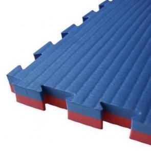 Puzzelmatte 100 x 100 x 2.5 cm Rot/Blau