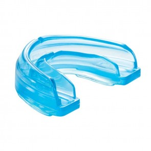 Shock Doctor Mundschutz für Zahnspangen Blau Junior