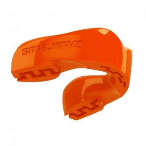 Safejawz Mundschutz Intro-Series Neon-Orange Senior