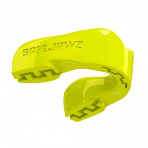 Safejawz Mundschutz Intro-Series Neon-Gelb Senior