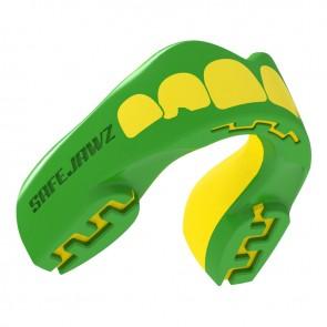 Safejawz Mundschutz Extro-Series Ogre Green/Yellow Junior