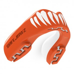Safejawz Mundschutz Extro-Series Viper Red/White Senior Senior