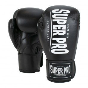 Super Pro Combat Gear Champ Boxhandschuhe black/white