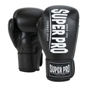 Super Pro Combat Gear Champ Boxhandschuhe black/white