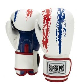 Super Pro Combat Gear Talent Kinder Boxhandschuhe red/white/blue