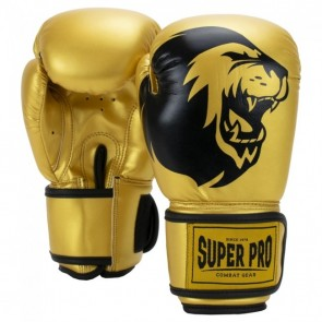 Super Pro Combat Gear Talent Kinder Boxhandschuhe gold/black