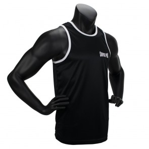 Super Pro Combat Gear Club Boxing Top Singlet black/white