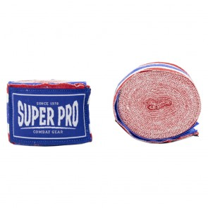 Super Pro Combat Gear Bandagen red/white/blue 250cm