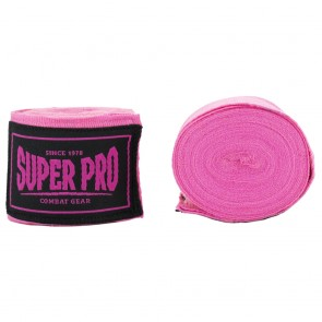 Super Pro Combat Gear Bandagen pink 250cm