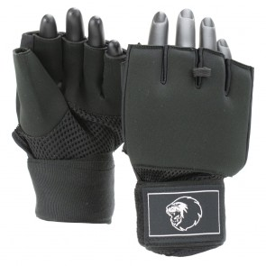 Super Pro Combat Gear Mexican Wrap Innenhandschuhe black/white