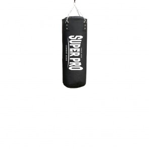 Super Pro Combat Gear Luxury Boxsack PU Vertical Logo black