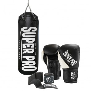 Super Pro Combat Gear SET Water Air Punchbag