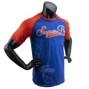 Super Pro Combat Gear T-Shirt Sublimation Challenger blue/red/white