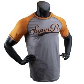 Super Pro Combat Gear T-Shirt Sublimation Challenger grey/orange/black