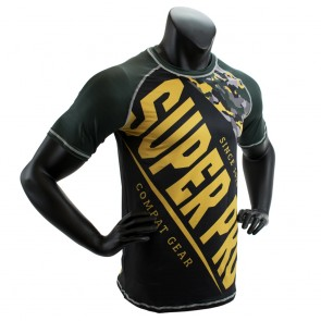 Super Pro Combat Gear T-Shirt Sublimation Camo black/green/gold