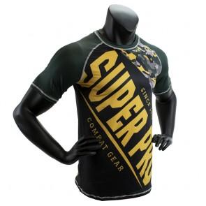 Super Pro Combat Gear T-Shirt Sublimation Camo black/green/gold