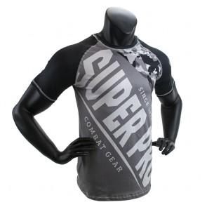 Super Pro Combat Gear T-Shirt Sublimation Camo black/grey/white