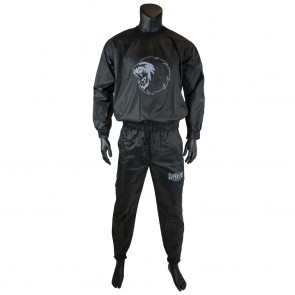 Super Pro Combat Gear Trainingsanzug / Sauna Suit black/white