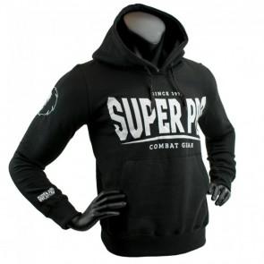 Super Pro Hoody S.P. Logo black/white