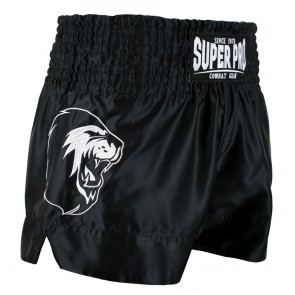 Super Pro Combat Gear Thai- und Kickboxing Shorts Hero black/white