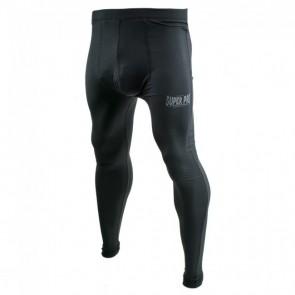 Super Pro Leggings Men Lion/Super Pro Logo black/grey