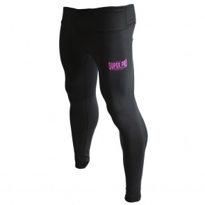 Super Pro Leggings Women Lion/Super Pro Logo black/pink