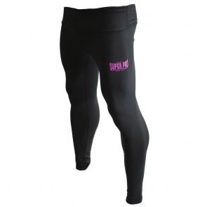Super Pro Leggings Women Lion/Super Pro Logo black/pink