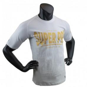 Super Pro T-Shirt S.P. Logo white/gold