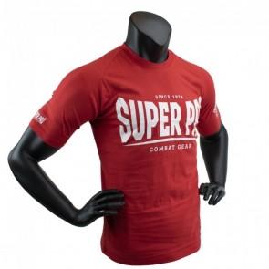 Super Pro T-Shirt S.P. Logo red/white