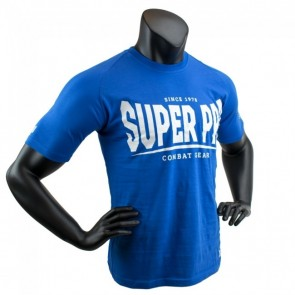 Super Pro T-Shirt S.P. Logo blue/white