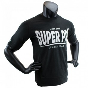 Super Pro T-Shirt S.P. Logo black/white