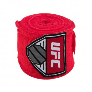"UFC Contender 180"" Hand Wraps red"