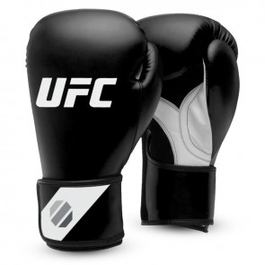 UFC Fitness Training Glove blk/white/silver (UHK-75029)