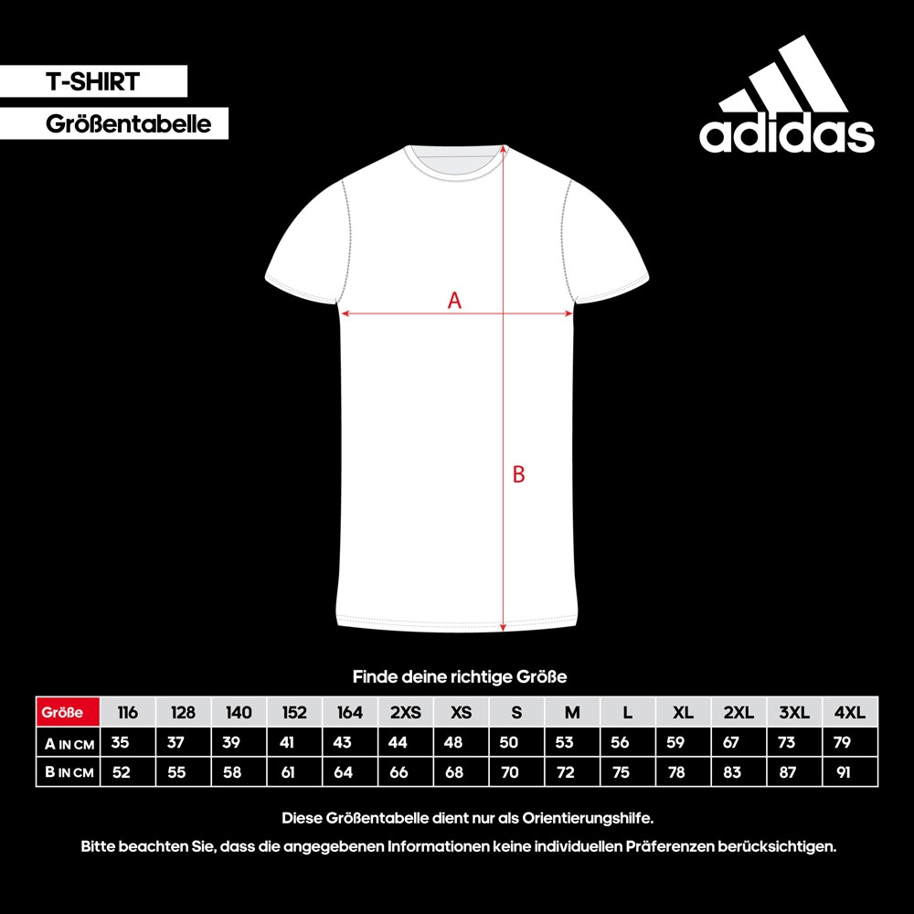 size helper adidas T-Shirt