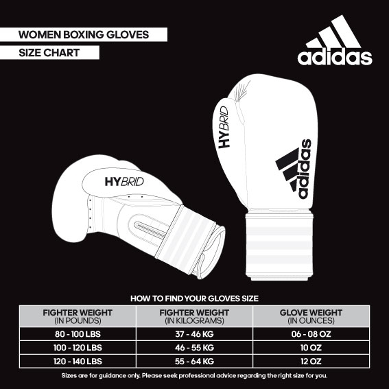 size helperwoman boxing gloves